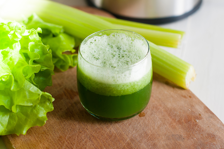 Freshly squeezed juice of fresh cucumber and celery, detox diet, vegan food ** Note: Soft Focus at 100%, best at smaller sizes